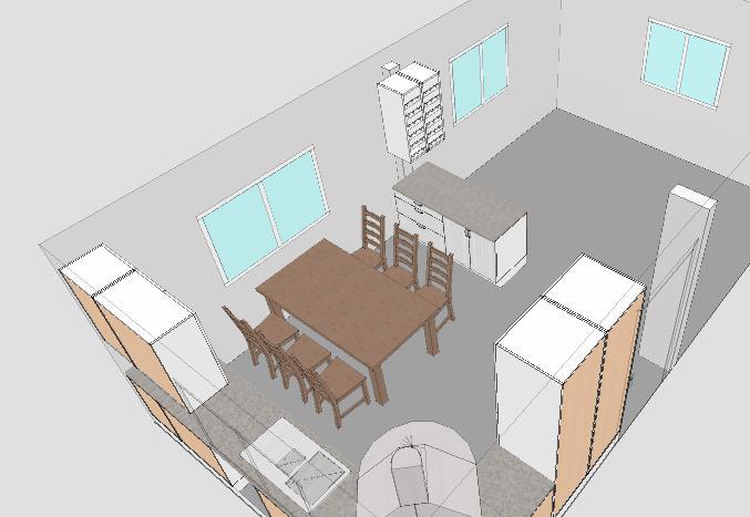 Planlosning Kok Vardagsrum : Och nu ser planlosningen ut so hor