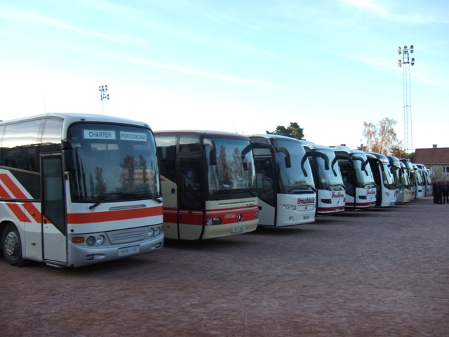 buss väg linjetrafik