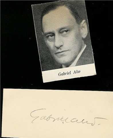 Gabriel Alw Net Worth