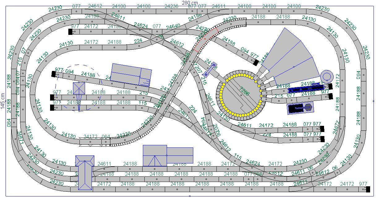 Model Railroad - Mrklin, Systems, C-Track